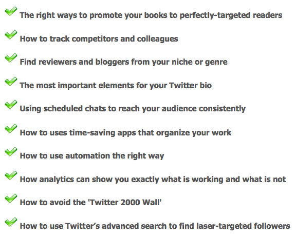 Twitter For Authors Features